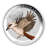 2018 Australia $1 Berlin World Money Fair - Kookaburra 1oz Silver Proof Coin (No Tax)
