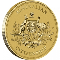 2018 Australia $1 Citizenship Coin in Card