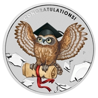 2018 Australia $1 Graduation 1oz. Silver Proof Coin (No Tax)