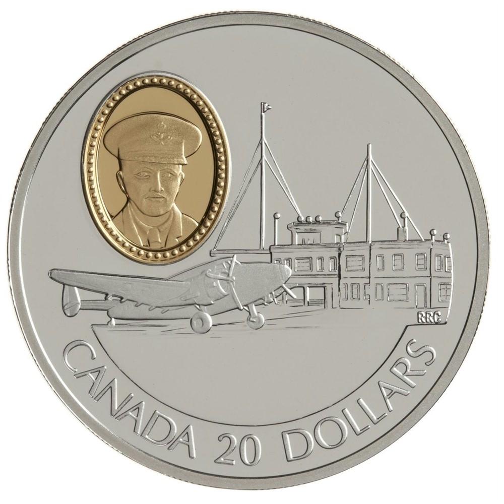Lockheed 14 Super Electra Aviation Coin 1993 Canada $20 Silver Coin