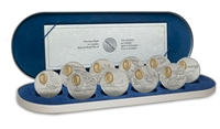1995-1999 Canada Aviation 2 Complete 10-coin Set with Deluxe Case
