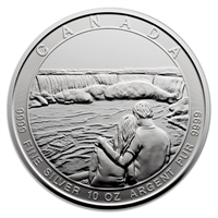 2017 $50 Canada the Great - Niagara Falls 10oz Silver Coin (No Tax)