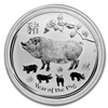 2019 Australia $30 Year of the Pig Kilo .999 Silver (No Tax)