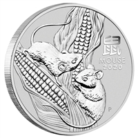 2020 Australia $30 Year of the Mouse Kilo. .9999 Silver (No Tax)