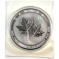2019 Canada $50 Magnificent Maple Leaves 10oz. Fine Silver (No Tax)