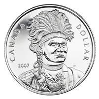 2007 Canada Thayendanegea Brilliant Uncirculated Dollar