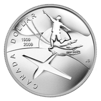 2009 Flight in Canada Centennial Brilliant Uncirculated Dollar