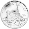 2010 Canadian Navy Centennial Brilliant Uncirculated Silver Dollar