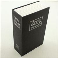 "Money Bank: The New English Dictionary Book Safe (7"" x  5"")"