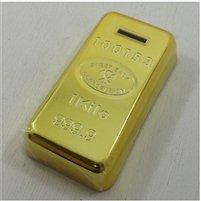 Money Bank: Gold Bar w/bonus 1919 Cent