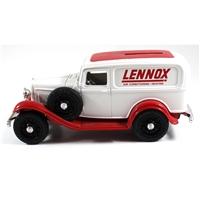 Money Bank: Lennox 1932 Ford Panel w/bonus 1919 Cent