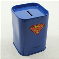 Money Bank: Superman Themed Coin Bank w/bonus 1919 Cent