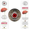 2008 Canada 25-cent Poppy Bookmark - WWI Armistice