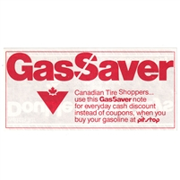 GS-PS-2Wa Canadian Tire Gas Saver Uncirculated