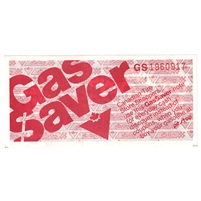 GS-GB-D-GS Canadian Tire Gas Saver With Store Uncirculated