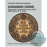Charlton Standard Catalogue Canadian Coins - Vol. 1 69th Ed.