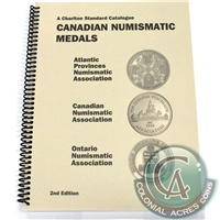 A Charlton Standard Catalogue - Canadian Numismatic Medals 2nd Edition