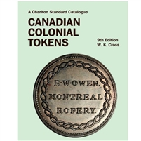 Canadian Colonial Tokens 9th edition Charlton Issued.