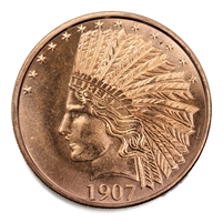 1oz. Pure Copper .999 Fine Copper - Titanic (No Tax)