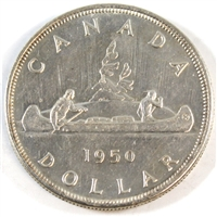 1950 SWL Canada Dollar Almost Uncirculated (AU-50)