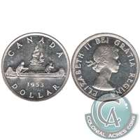 1953 SS Canada Dollar Uncirculated (MS-60)
