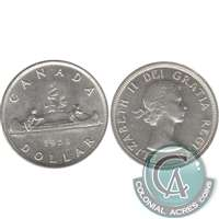 1953 SS SWL Canada Dollar Almost Uncirculated (AU-50)