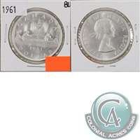 1961 Canada Dollar Brilliant Uncirculated (MS-63)