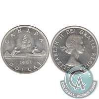1961 Canada Dollar Uncirculated (MS-60)