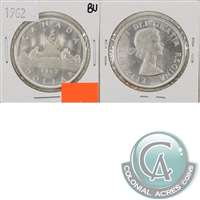 1962 Canada Dollar Brilliant Uncirculated (MS-63)