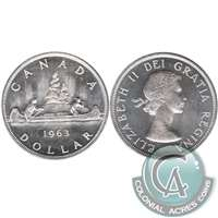 1963 Canada Dollar Brilliant Uncirculated (MS-63)