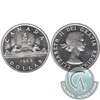 1963 Canada Dollar Proof Like