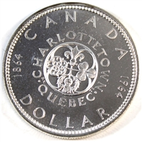 1964 No Dot Canada Dollar Proof Like