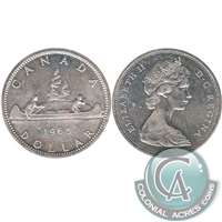 1965 Var. 1 Canada Dollar Uncirculated (MS-60)