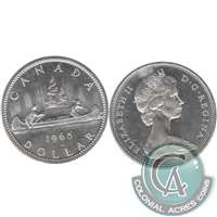 1965 Var. 2 Canada Dollar Brilliant Uncirculated (MS-63)