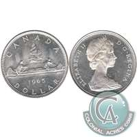 1965 Var. 3 Canada Dollar Uncirculated (MS-60)