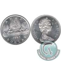 1965 Var. 5 Canada Dollar Brilliant Uncirculated (MS-63)