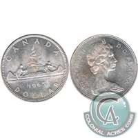 1965 Var. 5 Canada Dollar Uncirculated (MS-60)
