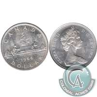 1966 Canada Dollar Uncirculated (MS-60)