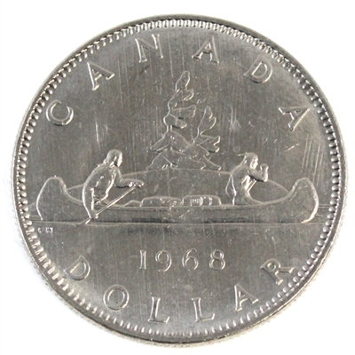 1968 Canada Nickel Dollar Brilliant Uncirculated (MS-63)