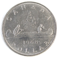 1968 Canada Nickel Dollar Circulated