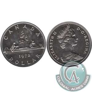 1972 Canada Nickel Dollar Proof Like