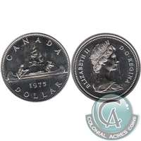 1975 Attatched Jewel Canada Nickel Dollar Proof Like