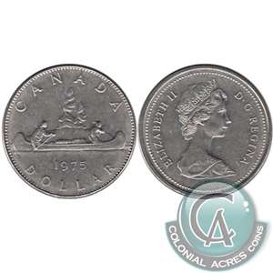 1975 Canada Nickel Dollar Brilliant Uncirculated (MS-63)