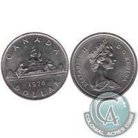 1976 Detatched Jewel Canada Nickel Dollar Brilliant Uncirculated (MS-63)