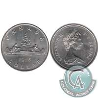1976 Detatched Jewel Canada Nickel Dollar UNC+ (MS-62)
