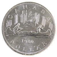 1980 Canada Nickel Dollar Brilliant Uncirculated (MS-63)