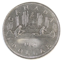 1980 Canada Nickel Dollar Circulated