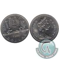 1980 Canada Nickel Dollar UNC+ (MS-62)