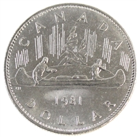 1981 Canada Nickel Dollar Brilliant Uncirculated (MS-63)