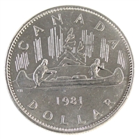 1981 Canada Nickel Dollar Circulated